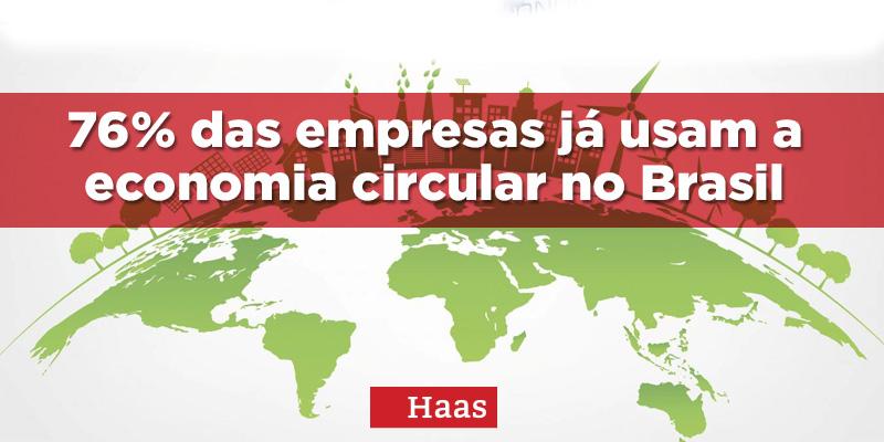 76% das empresas já usam a economia circular no Brasil