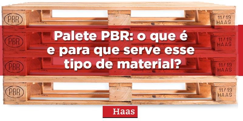 palete PBR, PBR pallet