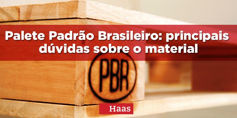 palete padrão brasileiro PBR pallet