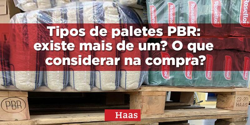 tipos de paletes PBR